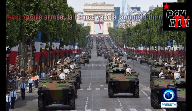 presstv armee france