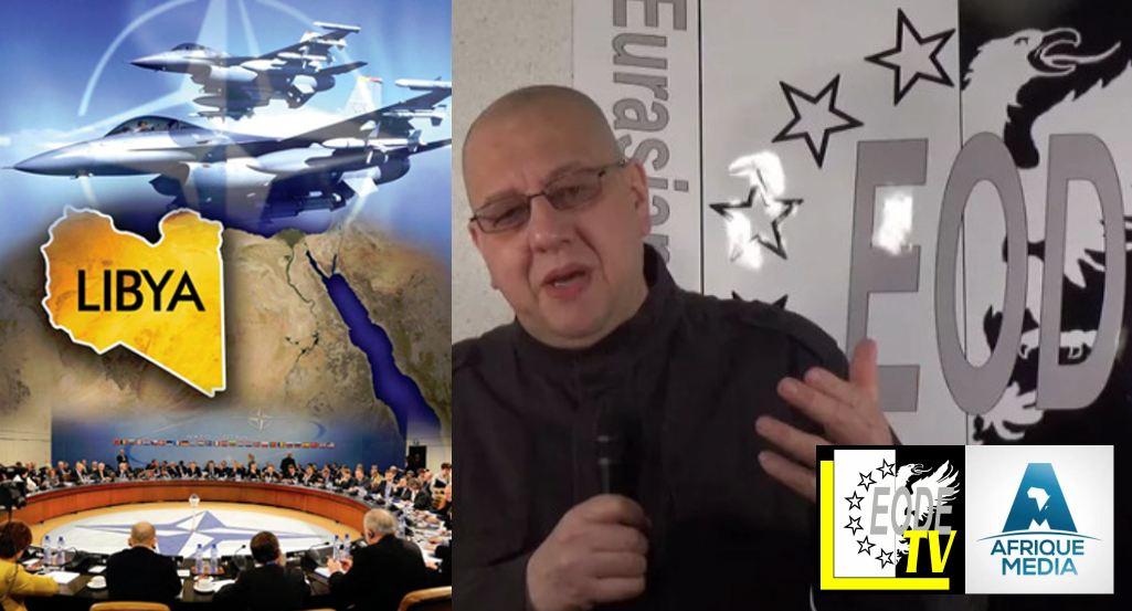AMTV - MERITE LM macron ment sur la libye (2018 02 09)