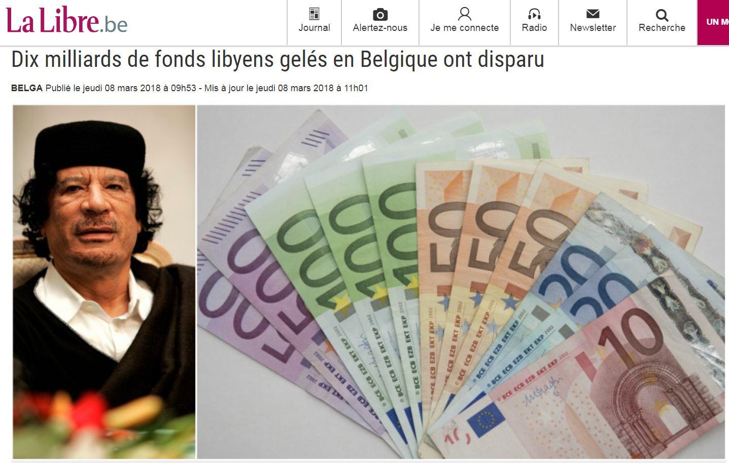 ELAC - Belgique fonds libyens (2018 03 08) FR