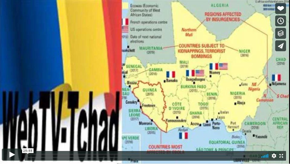 WEBTV TCHAD - LM geopol tchad III (2020 03 30)