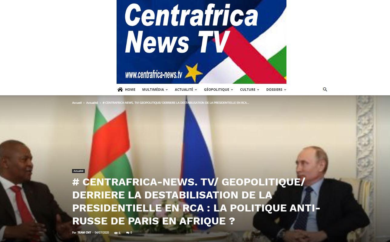 LM.GEOPOL - RP russes vs paris en rca (2020 07 12) FR
